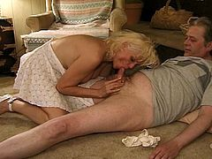 Filthy oldies in hot pervy orgy encounter. These busty grannies enjoy sharing to everyone their old bodies. They open their hairy cunts for grand daddies in this fervent group sex.