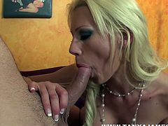 Slim milf with big tits enjoys feeling her tight vag being roughly smashed in pure hardcore