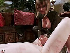 Kinky Femdom Stuff in Bondage Video with Strapon Queen Maitresse Madeline