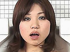 Beautiful asian girl encastred in a toilet bowl gets mouth and pussy fucked by a businessman! Thats weird japanese porn like we like it!