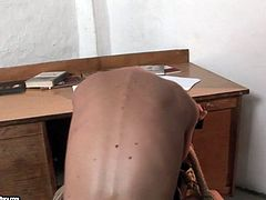Kinky blonde bitch dominates on bald slut with small tits. She ties her up and plays with her pussy. Naughty sex scene presented by 21 Sextury.