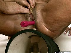 Mature harlot Orhidea has a very sensuous pussy. She test new sex machine and moans with pleasure. Watch steamy sex tube video produced by 21 Sextury porn site.
