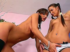 Cynthia Vellons and Suzie Carina take on each others pussy