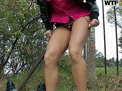 Awesome brunette Melissa wearing pink shirt which could be easily opened by her partner was ready for all things.She already opened her black skirt to her partner and wanted to give him what he wanted from her.He was touching her puffy tits while having sex and it gives him more energy to continue doing that.Watch this sex tube video.