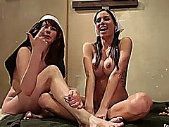 Foot Worship - Maitresse Madeline And Gia DIMarco 1