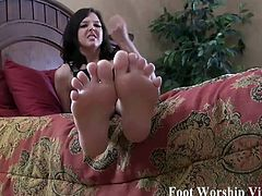 Foot fetish babes love to tease and show off. They love to get their feet licked, and they love to rub their feet against those dongs. Cum inside and watch all the foot fetish babes getting kinky.