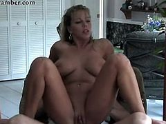 Amber Lynn Bach has bumped large in the pool!