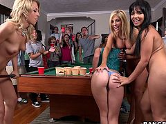 It's an incredible sex party with Rose, Tasha Reign, Zoey Monroe and company with games, including a cock sucking contest and lots and lots of sex.