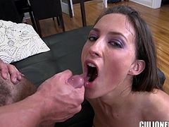Lizz Tayler blows and gets her pussy drilled from behind