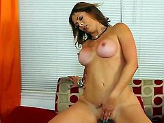 Hardcore action as this young stud fucks his best friends mum. Staring Joey Brass and Monique Fuentes. Great scene as this sexy MILF with big tits sucks on this young hard cock, and lets him ride her until he shoots his load all over her lovely titties.