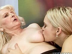 There's nothing like watching these old and young lesbians licking each other's hot snatches. Grab your swollen dick and get ready for the craziest lesbian sex scene ever!