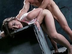 Bill Bailey looks at Dani Daniels and Johnny Sins having unforgettable pounding. Cute diva Dani is getting her sweet pussy licked and banged very well by Johnny.