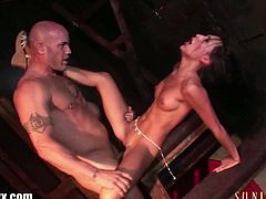 Come and watch the nasty and wild brunette sex slave Amia Miley as she gets fucked by her master in this hot hardcore video. She's ready to ride his hard cock into a massive orgasm.