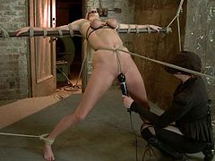 Hardest BDSM porn with a kinky blond slave Allie James