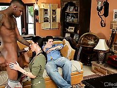 India Summer gets her mouth destroyed by Jon Jons love torpedo