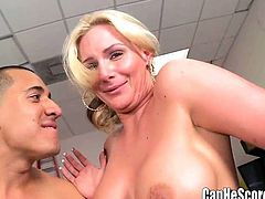 Lucky Guy Plays with Phoenix Marie Tanya Tate