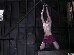 Two stunning chicks get chained in two separate scenes. Both girls get humiliated as she asked because they like to obey.