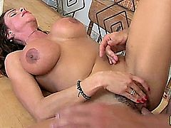 Ariella Ferrera Pounded In Her Hairy Pussy 1