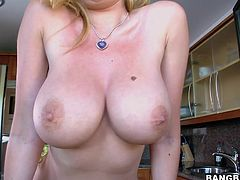 Donna Bell is not only hot as fuck but she also has the most amazing pair of tits. And if that wasn't enough, she fucks like no other.