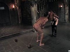 Here is some wild BDSM that changes your way of the attitude towards women! They are not always sensual and lovely! Bitches like Lady Lydia McLane can so so tough!