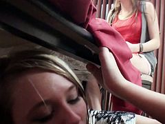 Voracious and drunk students throw a real group sex orgy. Tasty looking bitches welcome tongue fuck from their voracious group mates and give them a head in peppering sex video by Mofos Network.
