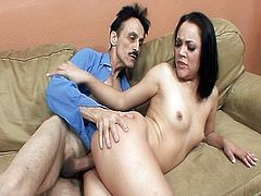Boned by her ugly stepdad