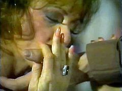 Honey Wilder enjoys a young man