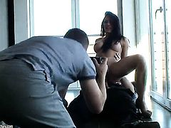 Teen Honey Demon is in heat in solo scene