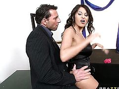 Allison Star is curious about oral sex with hot guy Nick Lang