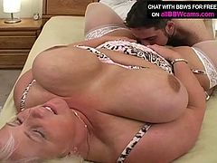 Voracious blonde hooker with huge boobs and thick ass gets her body measurements taken. After she gives hot blowjob sitting down on her knees. Lusty mom keeps an eye contact with the guy while pumping his rod with mouth lips. After hot blowjob she gets her soaking wet pussy licked.