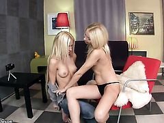 Blonde makes Lisas sexual fantasies come to life