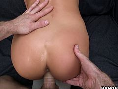 Go for the hottest pov sex video featuring sexy Asian chick getting her pussy hole and anus fucked. She is hot tempered cowgirl who can ride stiff cock all night long.