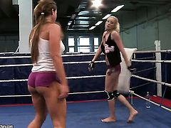 Blonde Angel Long and Chaty Heaven makes her lesbian sex dreams a come to life