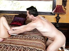 Riley Reid and Billy Glide have a lot of fun in this oral action