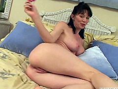 Oh, man just look at this sizzling and delightful sex doll Reyveness! She loves being thrilled and circling around that huge cock!