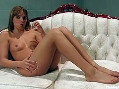 The sexy blonde chick Lexi Love will find pleasure in endless quantity when she gets her cunt banged by a machine.