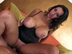Oh, man, you are lucky to find this video out! Juicy and slutty angel Persia Monir is enjoying a huge cock in her tight beaver! She is so amazing!
