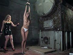 What an amazing and hot video this hardcore BDSM is! Two steaming hot and sexy babes are in some passion! A lot of perversions is here!