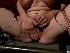 See this lesbian bondage video where Katie St. Ives gets a pillory on her shoulders so Bobbi Starr can face sit her and toy her.