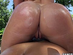 These two chicks have an amazingly sexy and big ass and titties.Watch them both getting their asshole banged pretty hard in front of the camera right on the street in 21 Sextury sex clips.