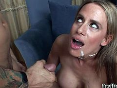 Devilish porn sluts get huge mouth cumshots so the cream is dripping down their chin slowly. These scenes are combined from various porn clips into one compilation free porn clip.
