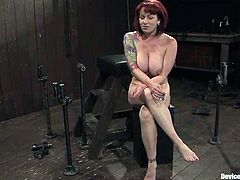 Redhead Kylie Ireland gets humiliated and abused