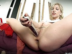 Ashley Fires is an anal addict