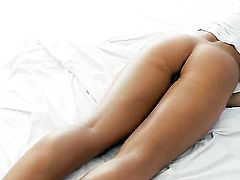 Megana gets nude for you to enjoy in solo anal scene
