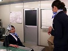 Japanese Married Cabin Attendant