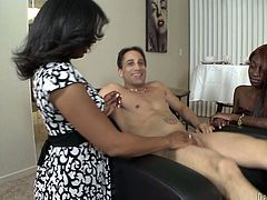 She is horny balck MILF who decided to give some sex advice to her grown up son.Watch her riding a cock of her son in Bang Bros Network sex clips.