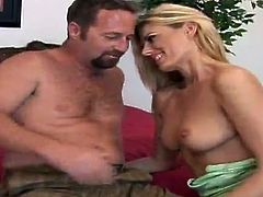 This amazingly hot and sexy babe Darryl Hanah gets naked and that hard cock makes her feel so fucking crazy, getting deeper and harder in her pussy!