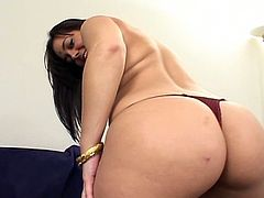 Marquetta Jewel is an absolutely lovely Indian girl. She looks amazing in the Indian traditional wear, but she looks even better naked and with cock in her holes.