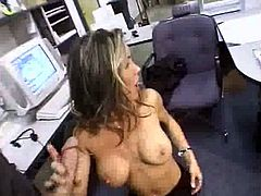 Secretary takes a break to Blow StockBoy