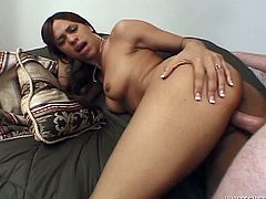 Horny Chyanne Jacobs gets fucked in her soaking pussy